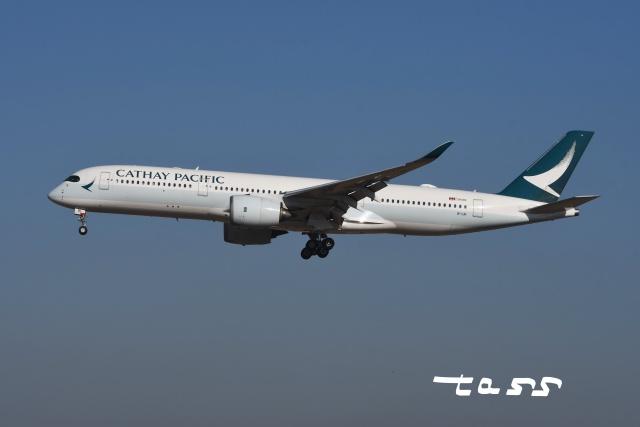 tassさんが、成田国際空港で撮影したキャセイパシフィック航空 A350-941の航空フォト(飛行機 写真・画像)