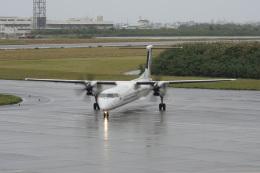 神宮寺ももさんが、宮古空港で撮影した琉球エアーコミューター DHC-8-402Q Dash 8 Combiの航空フォト(飛行機 写真・画像)