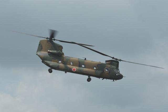 masahiさんが、東富士演習場で撮影した陸上自衛隊 CH-47Jの航空フォト(飛行機 写真・画像)