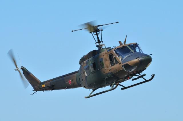 masahiさんが、明野駐屯地で撮影した陸上自衛隊 UH-1Jの航空フォト(飛行機 写真・画像)