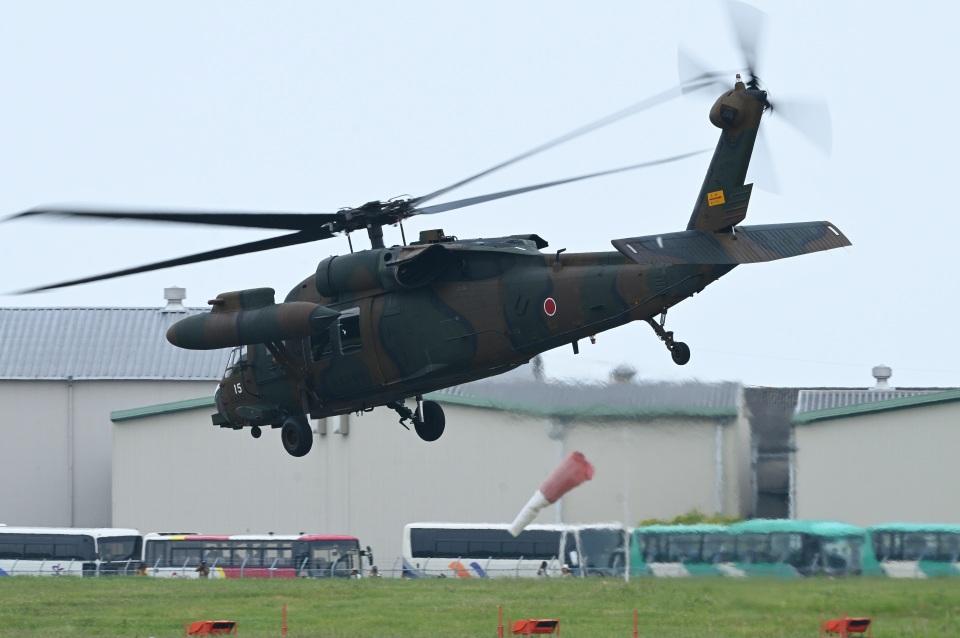masahiさんの陸上自衛隊 Mitsubishi UH-60JA (43115) 航空フォト