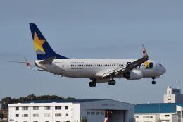 ワイエスさんが、鹿児島空港で撮影したスカイマーク 737-8Q8の航空フォト(飛行機 写真・画像)