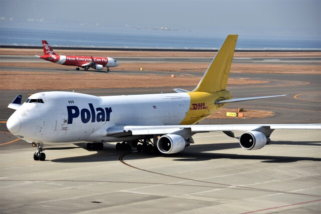 MSN/PFさんが、中部国際空港で撮影したポーラーエアカーゴ 747-46NF/SCDの航空フォト(飛行機 写真・画像)
