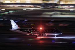 K.Sさんが、羽田空港で撮影したスターフライヤー A320-214の航空フォト(飛行機 写真・画像)