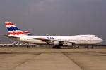 WING_ACEさんが、ドンムアン空港で撮影したオリエント・タイ航空 747-146の航空フォト(飛行機 写真・画像)