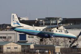 だびでさんが、調布飛行場で撮影した新中央航空 228-212の航空フォト(飛行機 写真・画像)