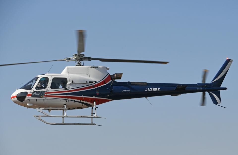 チャーリーマイクさんのノエビア Airbus Helicopters H125 (JA35BE) 航空フォト