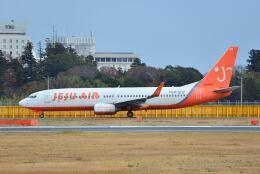 ポン太さんが、成田国際空港で撮影したチェジュ航空 737-86Jの航空フォト(飛行機 写真・画像)