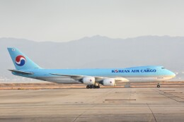 M.Tさんが、関西国際空港で撮影した大韓航空 747-8HTFの航空フォト(飛行機 写真・画像)