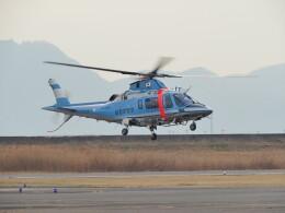 F.YUKIHIDEさんが、岡南飛行場で撮影した島根県警察 A109E Powerの航空フォト(飛行機 写真・画像)