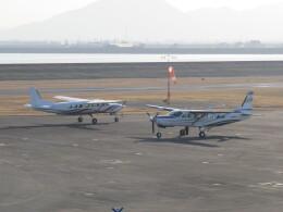 F.YUKIHIDEさんが、岡南飛行場で撮影した中日本航空 208B Grand Caravanの航空フォト(飛行機 写真・画像)