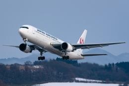 Ariesさんが、函館空港で撮影した日本航空 767-346/ERの航空フォト(飛行機 写真・画像)