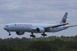 狛犬さんが、ミニストロ・ピスタリーニ国際空港で撮影したエア・カナダ 777-333/ERの航空フォト(飛行機 写真・画像)