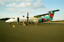 senbaさんが、大島空港で撮影したエアーニッポンネットワーク DHC-8-314Q Dash 8の航空フォト(飛行機 写真・画像)
