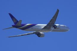 狛犬さんが、成田国際空港で撮影したタイ国際航空 777-3AL/ERの航空フォト(飛行機 写真・画像)