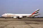 WING_ACEさんが、ドンムアン空港で撮影したエミレーツ航空 747-47UF/SCDの航空フォト(飛行機 写真・画像)