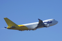 狛犬さんが、成田国際空港で撮影したポーラーエアカーゴ 747-47UF/SCDの航空フォト(飛行機 写真・画像)