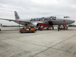 狛犬さんが、ノイバイ国際空港で撮影したジェットスター・パシフィック A320-232の航空フォト(飛行機 写真・画像)