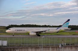 VEZEL 1500Xさんが、成田国際空港で撮影したエアプサン A321-231の航空フォト(飛行機 写真・画像)