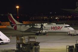 狛犬さんが、パリ オルリー空港で撮影したエールフランス・オップ! ATR-72-600の航空フォト(飛行機 写真・画像)