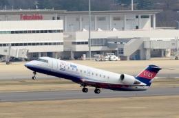 h_wajyaさんが、福島空港で撮影したアイベックスエアラインズ CL-600-2B19 Regional Jet CRJ-200ERの航空フォト(飛行機 写真・画像)
