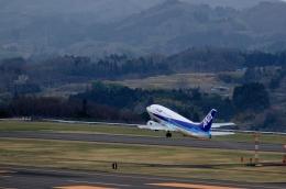 h_wajyaさんが、福島空港で撮影したANAウイングス 737-54Kの航空フォト(飛行機 写真・画像)