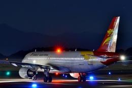 h_wajyaさんが、静岡空港で撮影した北京首都航空 A320-214の航空フォト(飛行機 写真・画像)