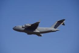 kei_takkyさんが、横田基地で撮影したアメリカ空軍 C-17A Globemaster IIIの航空フォト(飛行機 写真・画像)