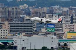 h_wajyaさんが、福岡空港で撮影した日本エアコミューター 340Bの航空フォト(飛行機 写真・画像)