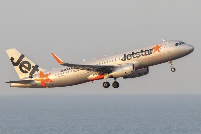 ドガースさんが、中部国際空港で撮影したジェットスター・ジャパン A320-232の航空フォト(飛行機 写真・画像)
