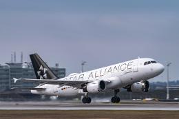 gomaさんが、ミュンヘン・フランツヨーゼフシュトラウス空港で撮影したルフトハンザドイツ航空 A319-114の航空フォト(飛行機 写真・画像)