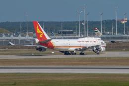 gomaさんが、ミュンヘン・フランツヨーゼフシュトラウス空港で撮影した揚子江快運航空 747-409F/SCDの航空フォト(飛行機 写真・画像)