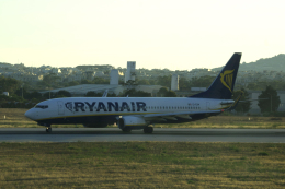 狛犬さんが、マルタ国際空港で撮影したライアンエア 737-8ASの航空フォト(飛行機 写真・画像)