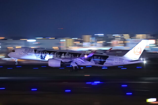 kengo.k@RJFTさんが、福岡空港で撮影した日本航空 A350-941の航空フォト(飛行機 写真・画像)