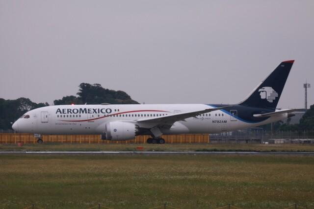 Mr.boneさんが、成田国際空港で撮影したアエロメヒコ航空 787-8 Dreamlinerの航空フォト(飛行機 写真・画像)