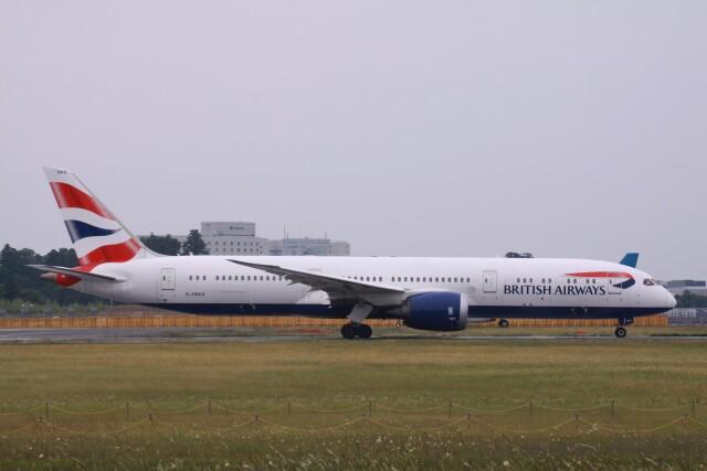 Mr.boneさんが、成田国際空港で撮影したブリティッシュ・エアウェイズ 787-9の航空フォト(飛行機 写真・画像)