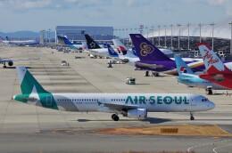mild lifeさんが、関西国際空港で撮影したエアソウル A321-231の航空フォト(飛行機 写真・画像)