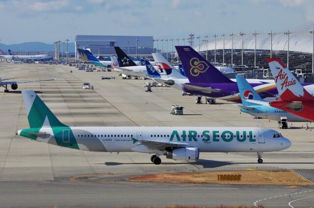 関西国際空港 - Kansai International Airport [KIX/RJBB]で撮影された関西国際空港 - Kansai International Airport [KIX/RJBB]の航空機写真(フォト・画像)