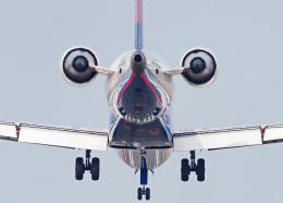 がいなやつさんが、福岡空港で撮影したアイベックスエアラインズ CL-600-2C10(CRJ-702ER)の航空フォト(飛行機 写真・画像)