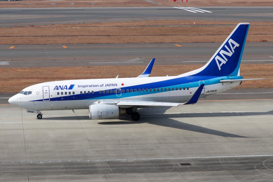 ドガースさんの全日空 Boeing 737-700 (JA04AN) 航空フォト