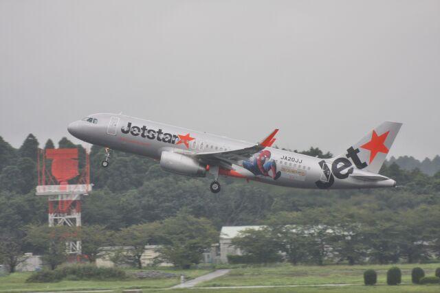 wunalaさんが、成田国際空港で撮影したジェットスター・ジャパン A320-232の航空フォト(飛行機 写真・画像)