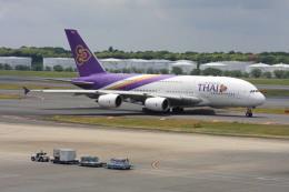 wunalaさんが、成田国際空港で撮影したタイ国際航空 A380-841の航空フォト(飛行機 写真・画像)