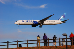 アルビレオさんが、成田国際空港で撮影したユナイテッド航空 787-9の航空フォト(飛行機 写真・画像)