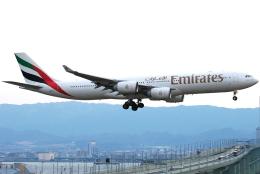 jun☆さんが、関西国際空港で撮影したエミレーツ航空 A340-541の航空フォト(飛行機 写真・画像)