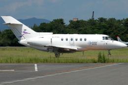 jun☆さんが、名古屋飛行場で撮影した金鹿航空 Hawker 800の航空フォト(飛行機 写真・画像)