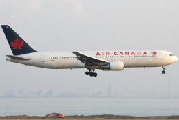 jun☆さんが、関西国際空港で撮影したエア・カナダ 767-375/ERの航空フォト(飛行機 写真・画像)