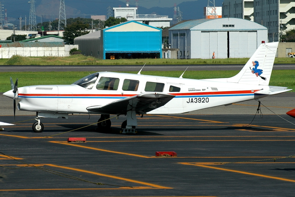 jun☆さんの日本個人所有 Piper PA-32 Cherokee Six (JA3920) 航空フォト