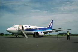 senbaさんが、大島空港で撮影した全日空 737-54Kの航空フォト(飛行機 写真・画像)