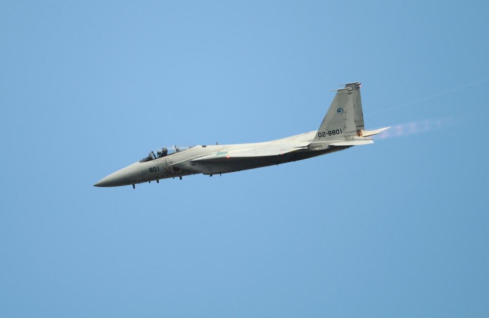 masahiさんの航空自衛隊 McDonnell Douglas F-15J Eagle (02-8801) 航空フォト