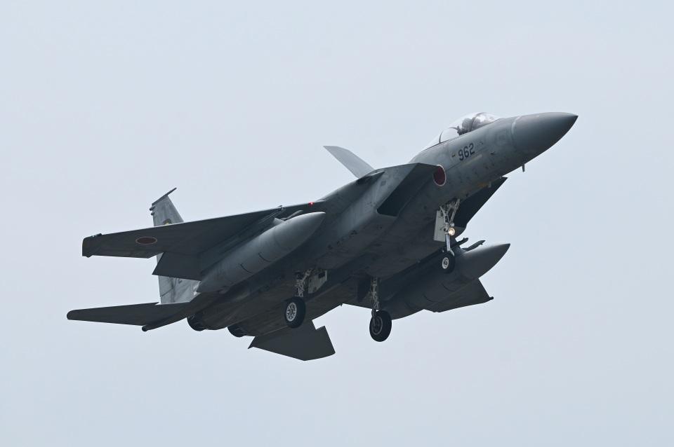 masahiさんの航空自衛隊 Mitsubishi F-15J Eagle (72-8962) 航空フォト